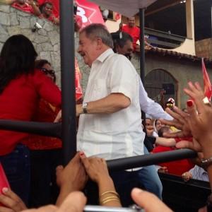 (Lula en campagne, 2012)