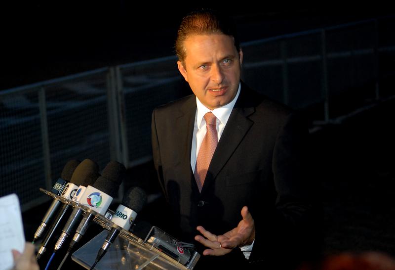 Le candidat à la présidence Eduardo Campos est décédé dans un accident d'avion à Santos