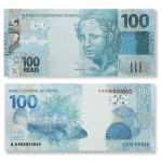 Billet de 100 reais