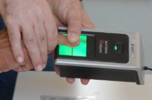 Article : Vote biométrique, 100% jusqu'en 2018