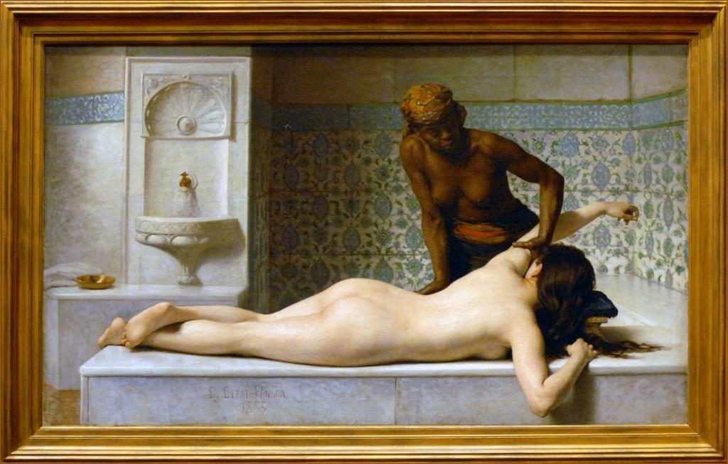 Le_massage_scene_de_hammam_musee_des_Augustins_Toulouse