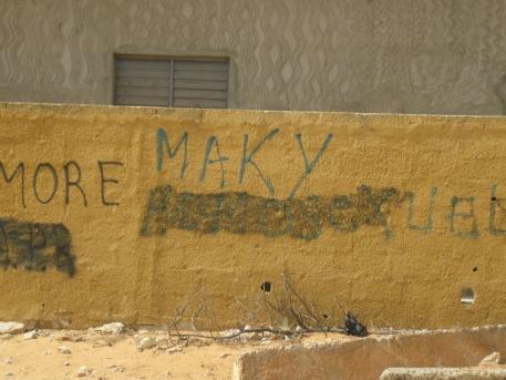 (dans un pays où l'homosexualité est très mal vue, Macky sall fait souvent l'objet de provocation homophobe: Crédit photo: Serge Katembera)