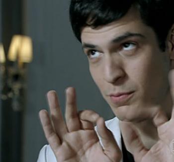 Mateus Solano dans le rôle d'un homosexuel assumé