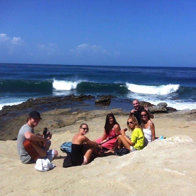 Quelques brésiliens à San Diego