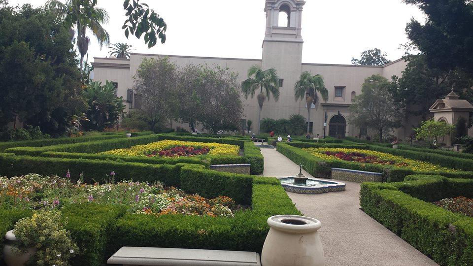 Le jardin botanique de San Diego
