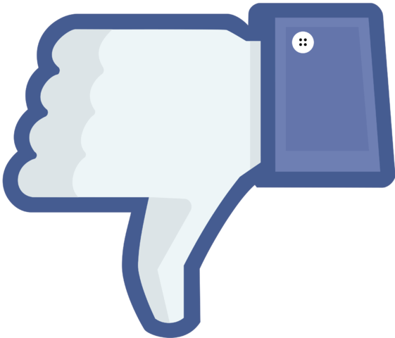 http://commons.wikimedia.org/wiki/File:Not_facebook_not_like_thumbs_down.png