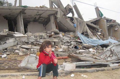 Article : Que fait-on maintenant, on oublie les 1822 Palestiniens tués ?