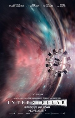 Affiche du film Interstellar  / Source Wired