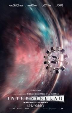 Affiche du film Interstellar  / Source Wired