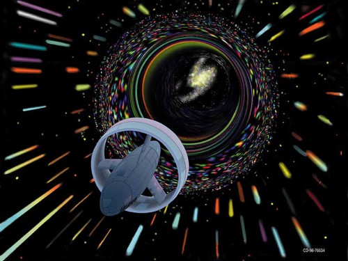 http://commons.wikimedia.org/wiki/File:Wormhole_travel_as_envisioned_by_Les_Bossinas_for_NASA.jpg