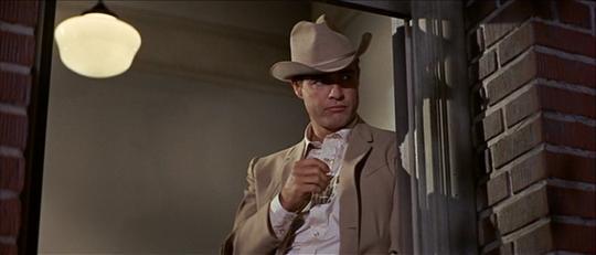 Marlon Brando dans La Poursuite impitoyable