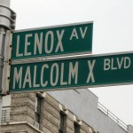 http://commons.wikimedia.org/wiki/File:Malcolm_X_Blvd_street_sign.jpg