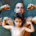 http://commons.wikimedia.org/wiki/File:Tattoo_withchild.jpg