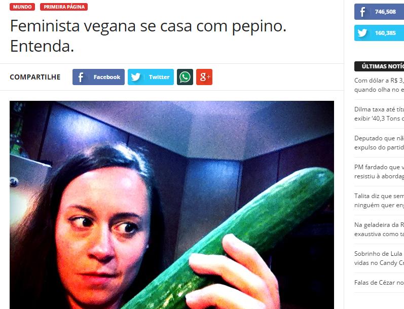 Capture d'écran du site Sensacionalista
