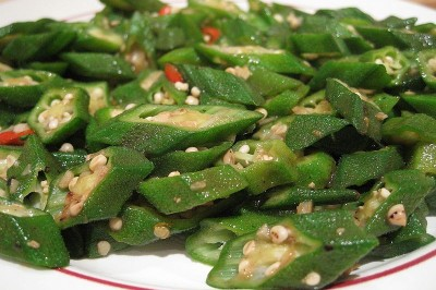 http://commons.wikimedia.org/wiki/File:Stir-Fried-Okra-2008.jpg