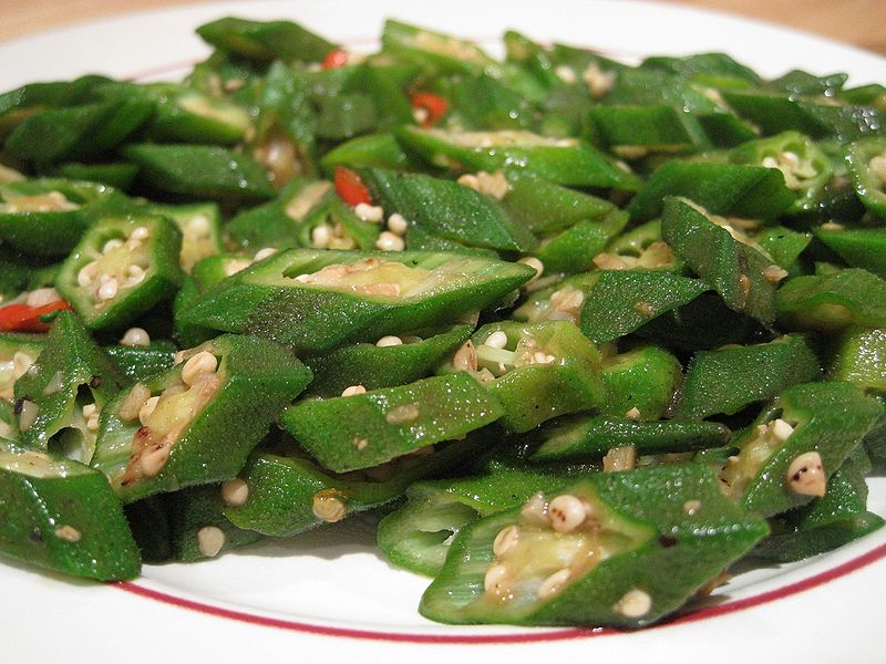 https://commons.wikimedia.org/wiki/File:Stir-Fried-Okra-2008.jpg
