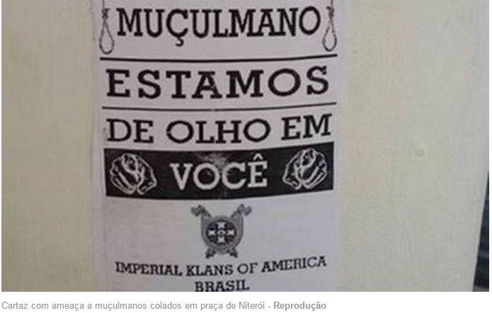 Capture d'écran sur le site d'O Globo