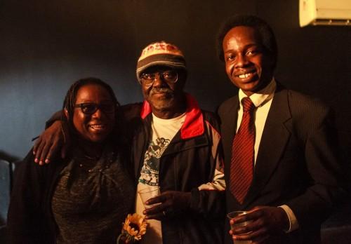 La famille Muleka père mère et fils - crédit photo:  Bruno Ropelato @Facebook