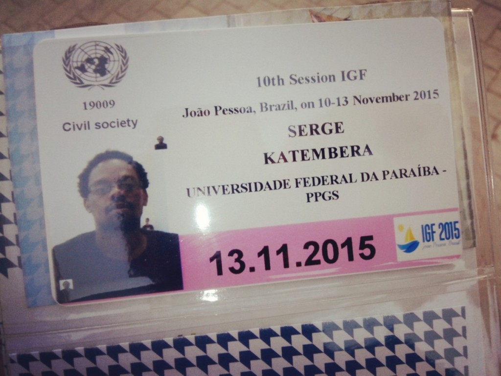 J'ai quand même pu récupérer mon badge #IGF2015