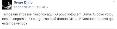 Brésil vote impeachment